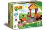 Unico ehitusklotsid 21 osa Farm
