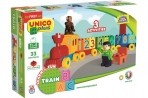 Unico ehitusklotsid 33 osa rong