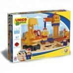 Unico ehitusklotsid 67 osa