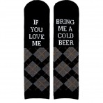 Urban&Gray sõnumiga sokid Cold Feet 1 paar
