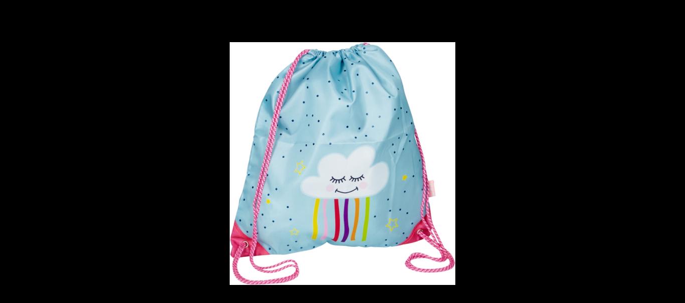 Väikesed sõbrad seljakott-sussikott Pilveke
