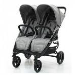 Valco Baby kaksikute kergkäru Snap Duo Cool Grey