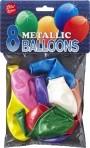 Viborg metallikõhupallid 25tk pakis