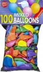 Viborg õhupallid mix 100tk
