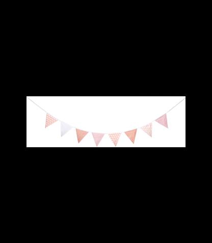 Kids Concept dekoratsioon Edvin vimplid roosa