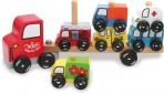 Vilac puidust mänguasi-klotsid Rekka