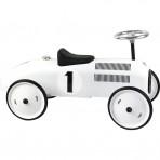 Vilac metallist pealeistutav auto Vintage valge