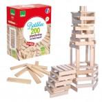 Vilac puidust ehitusklotsid 200tk