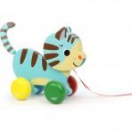 Vilac puidust järelveetav mänguasi Kass Marcel