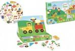 Vilac puidust magneetiline mäng Farm