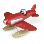 Vilac puidust mänguasi Vesilennuk punane