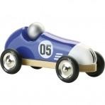 Vilac puidust retro võidusõiduauto sinine