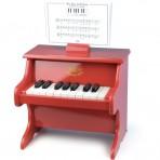 Vilac puidust väike klaver punane