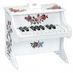 Vilac puidust väike klaver Nathalie Lete valge