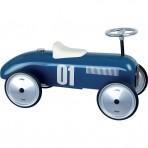 Vilac metallist pealeistutav auto Vintage sinine