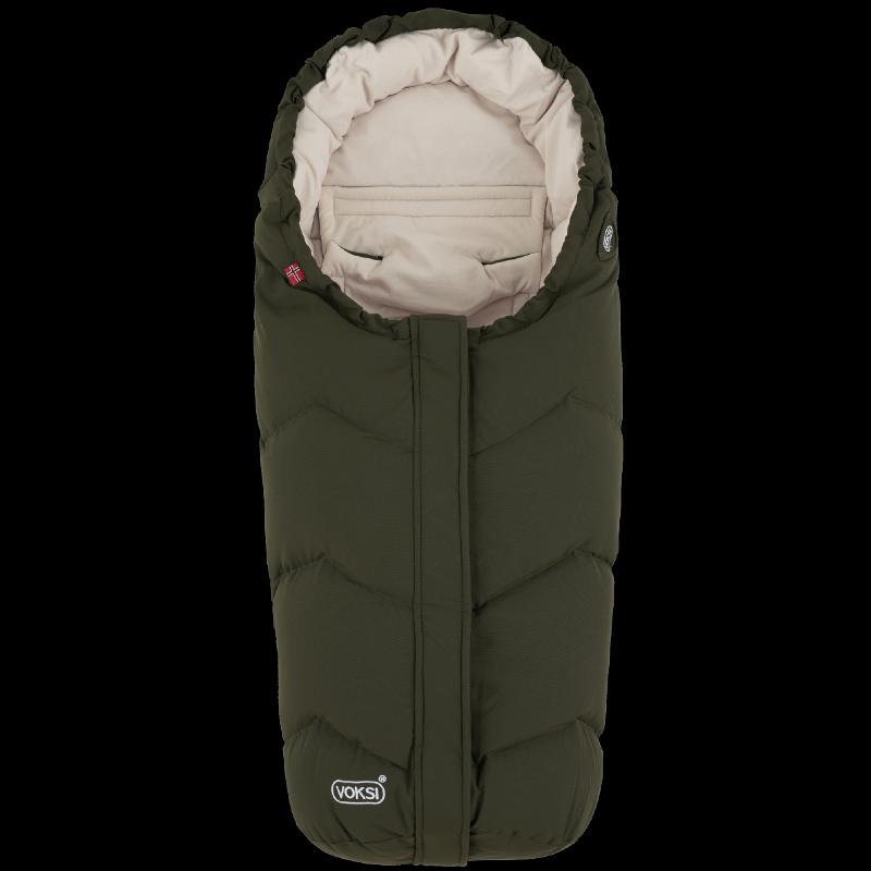 Voksi soojakott turvahälli või vankrisse Move Pine Green Cream 2020